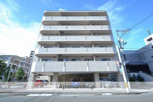 広島県広島市南区、宇品五丁目駅徒歩4分の築21年 6階建の賃貸マンション