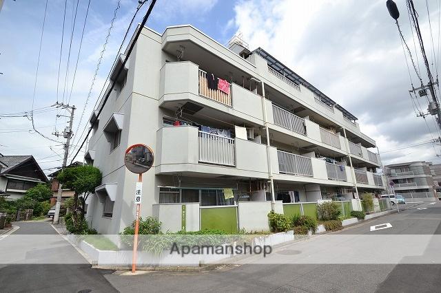 広島県広島市南区、宇品二丁目駅徒歩17分の築32年 4階建の賃貸マンション