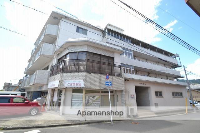 広島県広島市西区、新白島駅徒歩15分の築34年 4階建の賃貸マンション