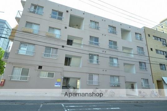 広島県広島市南区、元宇品口駅徒歩4分の築39年 4階建の賃貸マンション