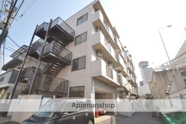 広島県広島市南区、天神川駅徒歩15分の築27年 5階建の賃貸マンション