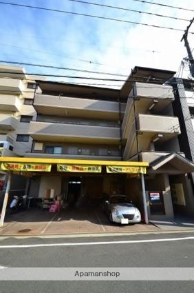広島県広島市南区、県病院前駅徒歩9分の築21年 4階建の賃貸マンション