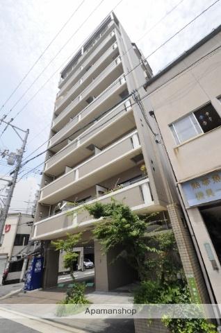 広島県広島市中区、土橋駅徒歩3分の築15年 9階建の賃貸マンション