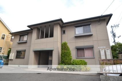 広島県広島市安芸区、向洋駅バスバス3分入川下車後徒歩7分の築15年 2階建の賃貸アパート