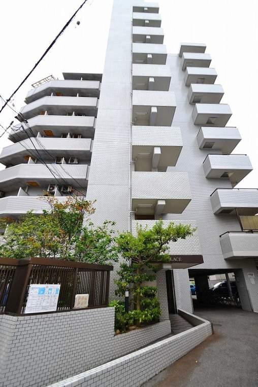 広島県広島市南区、県病院前駅徒歩6分の築26年 9階建の賃貸マンション