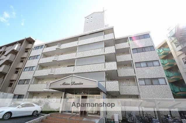 広島県広島市南区、宇品二丁目駅徒歩6分の築31年 5階建の賃貸マンション