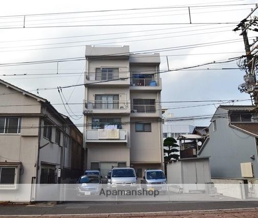 広島県広島市西区、土橋駅徒歩5分の築36年 4階建の賃貸マンション