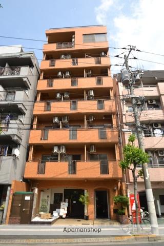 広島県広島市中区、土橋駅徒歩4分の築27年 7階建の賃貸マンション