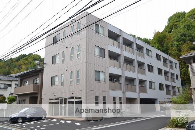 広島県安芸郡海田町、海田市駅徒歩6分の築1年 4階建の賃貸アパート