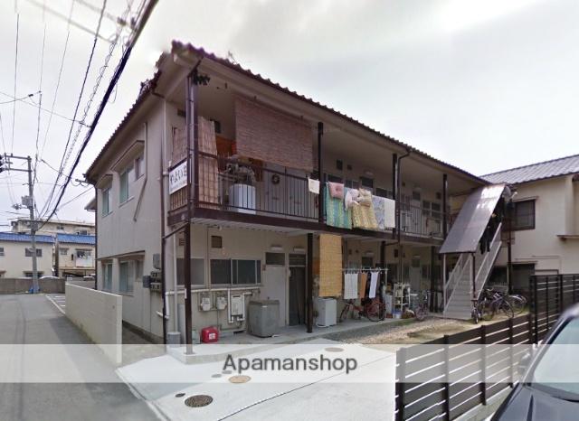 広島県広島市南区、県病院前駅徒歩17分の築36年 2階建の賃貸アパート