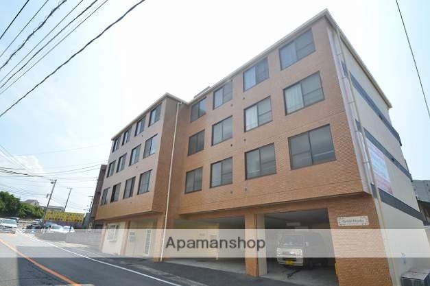 広島県広島市東区、戸坂駅徒歩15分の築30年 4階建の賃貸マンション