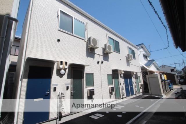 広島県広島市西区、古江駅徒歩15分の築1年 2階建の賃貸アパート