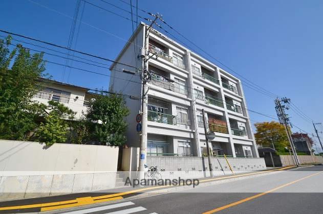 広島県広島市南区、海岸通駅徒歩5分の築43年 4階建の賃貸マンション