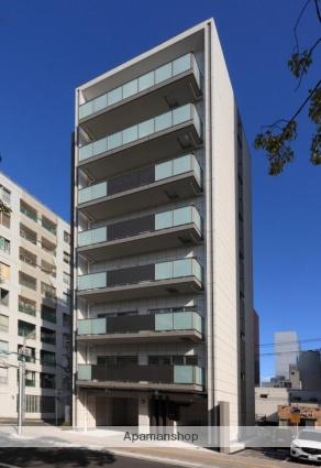 広島県広島市中区、本通駅徒歩5分の築1年 8階建の賃貸マンション