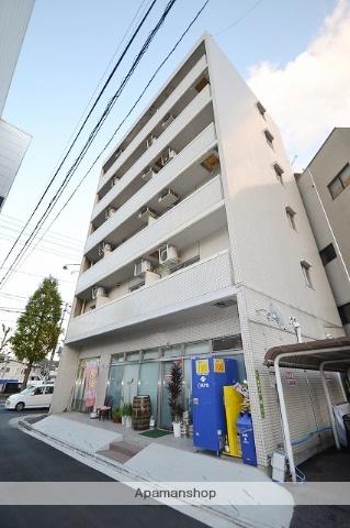広島県広島市東区、広島駅徒歩12分の築26年 6階建の賃貸マンション