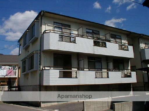 広島県広島市安佐南区、七軒茶屋駅徒歩17分の築24年 2階建の賃貸アパート