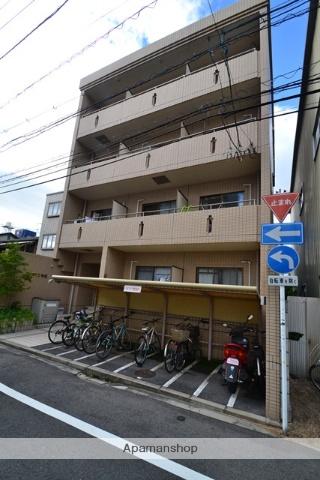 広島県広島市西区、横川駅駅徒歩10分の築24年 4階建の賃貸マンション