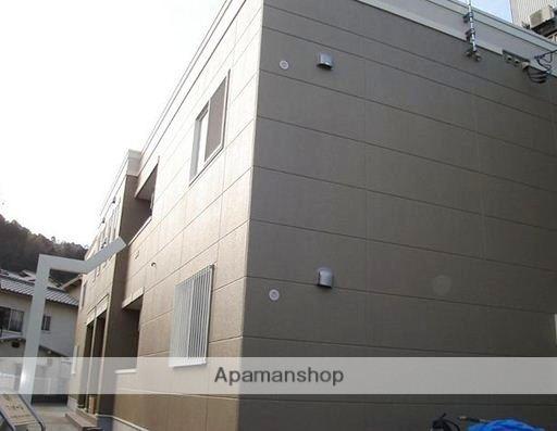 広島県広島市東区、戸坂駅徒歩18分の築4年 2階建の賃貸アパート