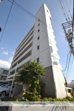 広島県広島市中区、日赤病院前駅徒歩11分の築26年 7階建の賃貸マンション
