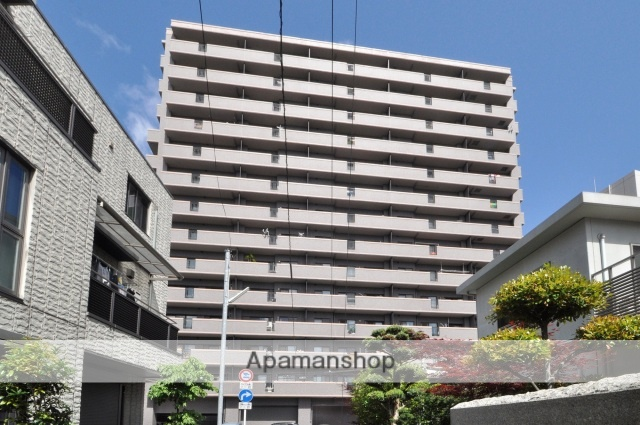 広島県広島市西区、横川駅徒歩7分の築18年 14階建の賃貸マンション