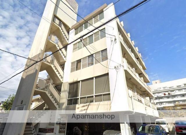 広島県広島市中区、新白島駅徒歩5分の築42年 5階建の賃貸マンション