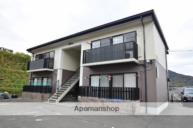 広島県広島市安佐南区、安東駅徒歩15分の築17年 2階建の賃貸アパート