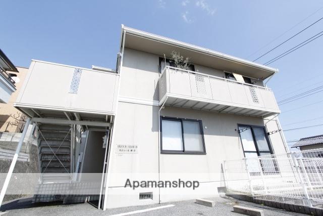 広島県広島市西区、新井口駅徒歩18分の築24年 2階建の賃貸アパート