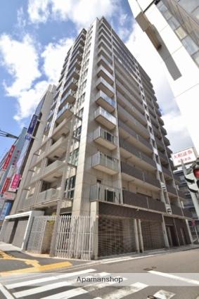 広島県広島市中区、県庁前駅徒歩3分の築2年 14階建の賃貸マンション