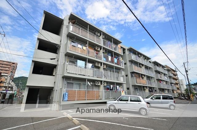 広島県広島市東区、戸坂駅徒歩12分の築31年 4階建の賃貸マンション