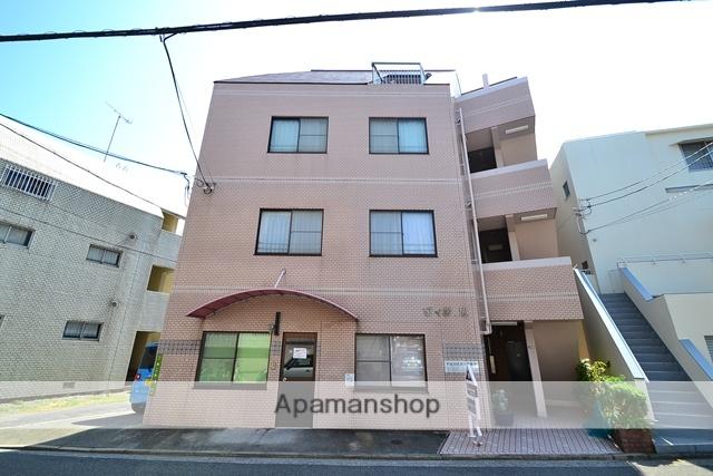 広島県広島市南区、県病院前駅徒歩20分の築28年 3階建の賃貸マンション