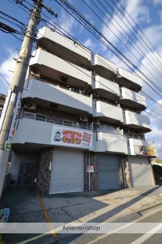 広島県広島市東区、矢賀駅徒歩16分の築38年 4階建の賃貸マンション
