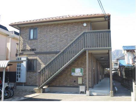 広島県廿日市市、宮島口駅徒歩7分の築11年 2階建の賃貸アパート