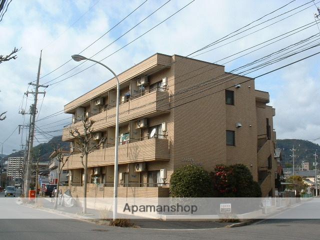 広島県広島市西区、草津駅徒歩11分の築28年 3階建の賃貸マンション