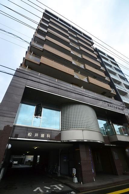 広島県広島市中区、舟入町駅徒歩8分の築22年 10階建の賃貸マンション