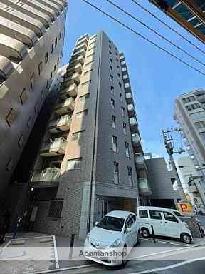 広島県広島市中区、市役所前駅徒歩12分の築3年 12階建の賃貸マンション