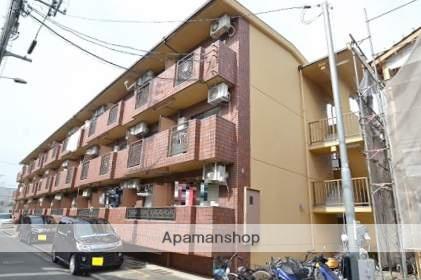 広島県広島市中区、御幸橋駅徒歩17分の築28年 3階建の賃貸マンション