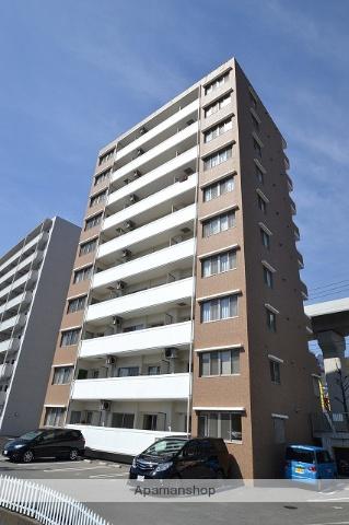 広島県広島市安佐南区、上安駅徒歩15分の築9年 10階建の賃貸マンション