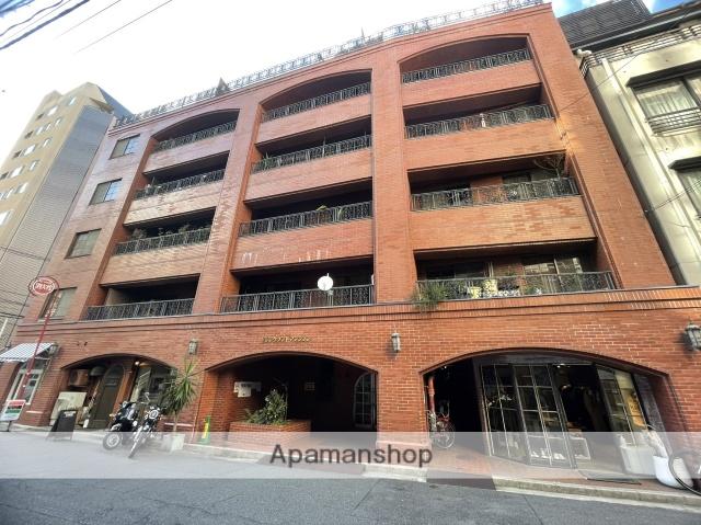 広島県広島市中区、胡町駅徒歩8分の築38年 8階建の賃貸マンション