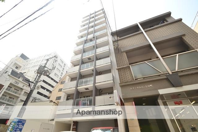 広島県広島市中区、八丁堀駅徒歩8分の築6年 11階建の賃貸マンション