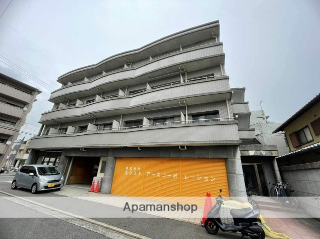 広島県広島市西区、東高須駅徒歩13分の築26年 4階建の賃貸マンション