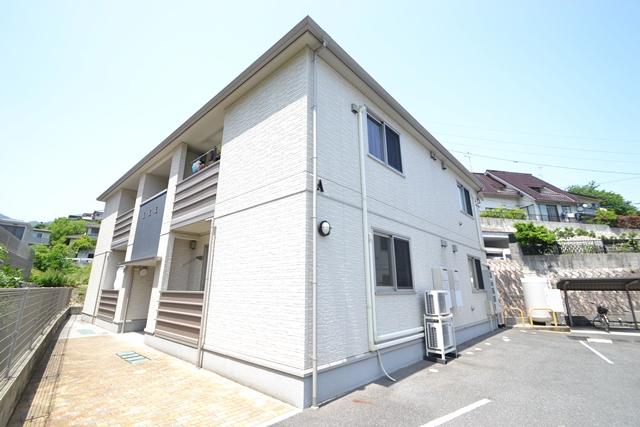 広島県廿日市市、宮島口駅徒歩15分の築10年 2階建の賃貸アパート