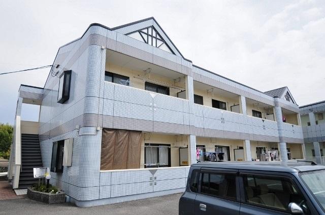 広島県広島市安佐南区、伴駅徒歩18分の築17年 2階建の賃貸アパート