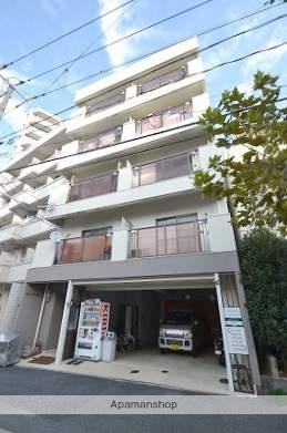 広島県広島市中区、御幸橋駅徒歩3分の築32年 5階建の賃貸マンション