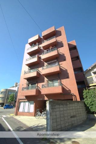 広島県広島市中区、白島駅徒歩10分の築36年 5階建の賃貸マンション
