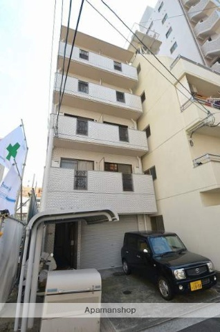 広島県広島市中区、土橋駅徒歩4分の築31年 5階建の賃貸マンション