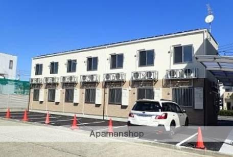 広島県広島市南区、県病院前駅徒歩20分の新築 2階建の賃貸アパート