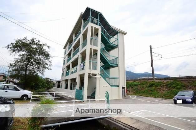 広島県広島市安佐南区、上八木駅徒歩4分の築43年 4階建の賃貸マンション