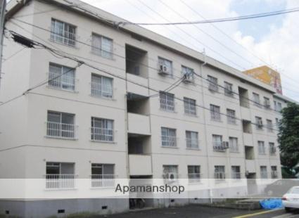 広島県広島市西区、新井口駅徒歩10分の築36年 4階建の賃貸マンション
