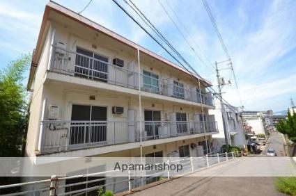 広島県広島市東区、不動院前駅徒歩8分の築41年 3階建の賃貸マンション