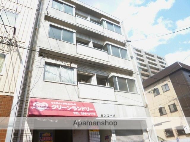 広島県広島市中区、舟入町駅徒歩10分の築27年 4階建の賃貸マンション